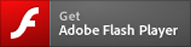 Image of Adobe Flash Player download button