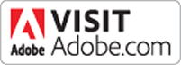 Image of Adobe Logo visit their website button.