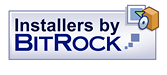 Image of BitRock Software logo visit their website button.